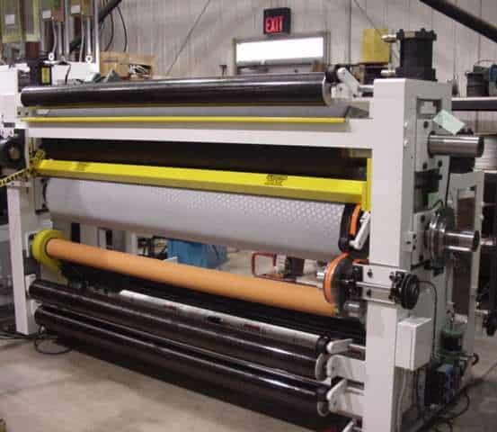 4-roll calender machine serves multiple converting applications