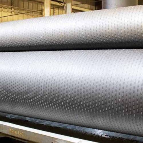 Embossing roller design optimizes product performance